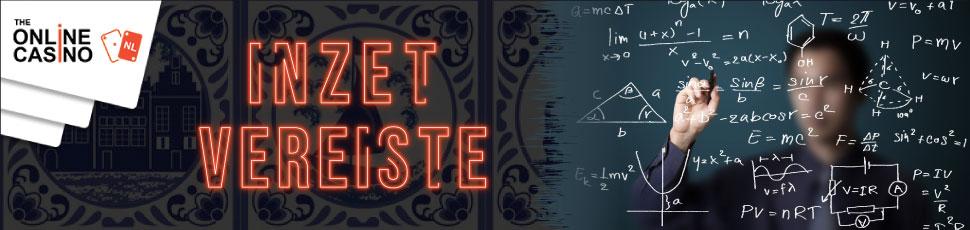 The-Online-Casino-Inzet-Vereiste